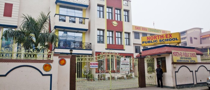 best schools in india North-Ex Public School premier educational institutions learning experience to students best infrastructure facilities, high-tech labs